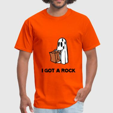Snoopy Pumpkin I Got A Rock - Men's T-Shirt