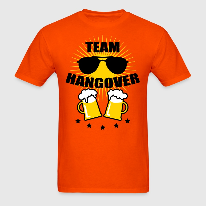 39 Team Hangover Sunglasses Beer Alcohol Party - Men's T-Shirt