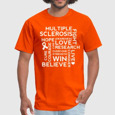 Multiple Sclerosis Awareness MS Walk - Men's T-Shirt