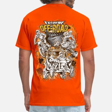 Utv Extreme Off-Road Racing - Men's T-Shirt
