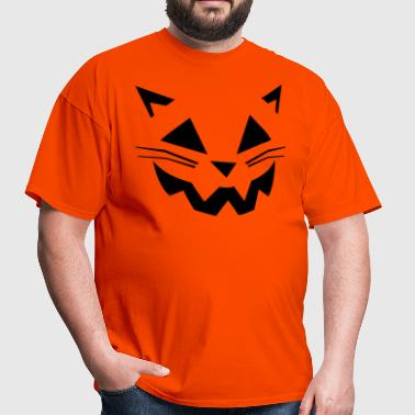 Cat Jack O' Lantern - Men's T-Shirt