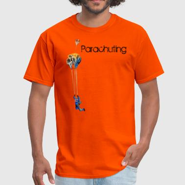 parachuting - Men's T-Shirt