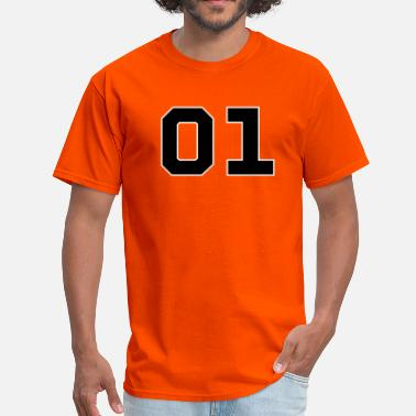 Bo Duke Dukes of Hazzard - General Lee Number - Men's T-Shirt