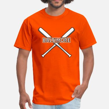 Oriole Baltimore Baseball - Men's T-Shirt