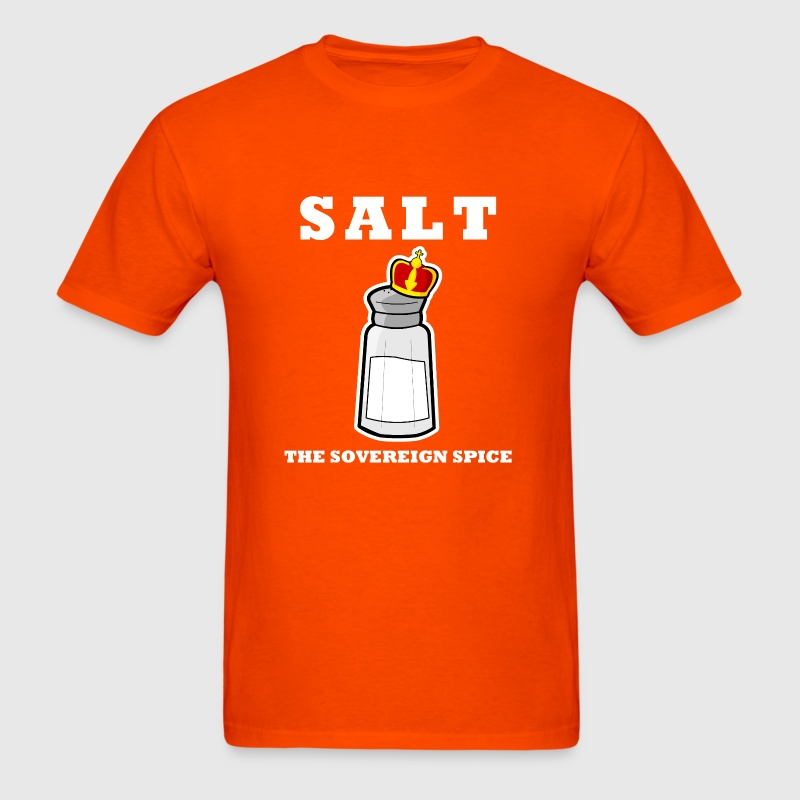 Salt: The Sovereign Spice - Men's T-Shirt