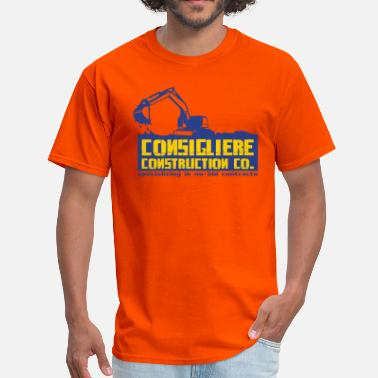 Construction Company Consigliere Construction Co - Men's T-Shirt