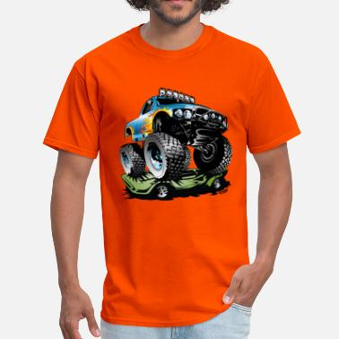 Wheels Monster Race Truck - Men's T-Shirt