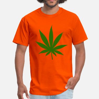4 20 Marijuana Leaf - Men's T-Shirt