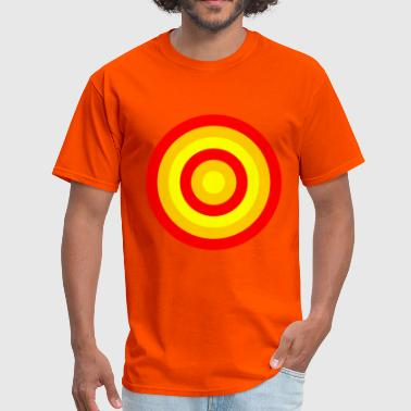 circles (red,orange and yellow) - Men's T-Shirt