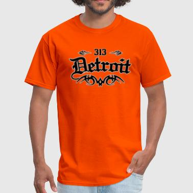 Detroit City Detroit 313 - Men's T-Shirt