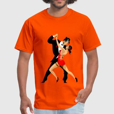 Tango peoples dancing - Men's T-Shirt