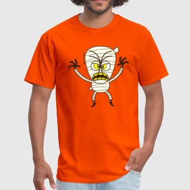 Scary Halloween Mummy - Men's T-Shirt