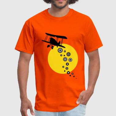It's raining flowers! (Sunset) - Men's T-Shirt