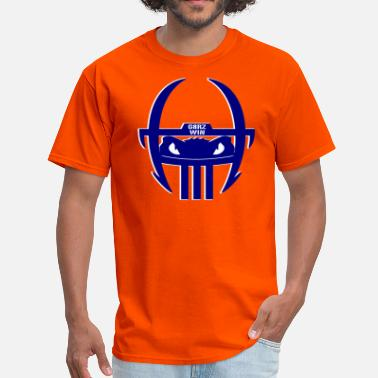 Gators Gators Win Blue Helmet - Men's T-Shirt