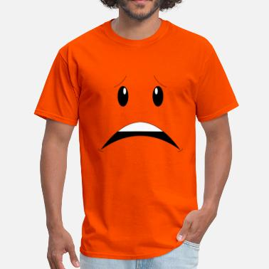 Worried Face - Men's T-Shirt