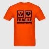 FRAGILE - Please Handle With Care (Sign) - Men's T-Shirt