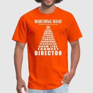 Funny Band Marching Band Volume - Men's T-Shirt