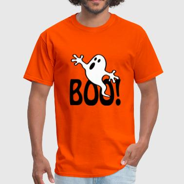 Halloween Boo Halloween Ghost - Vector - Men's T-Shirt