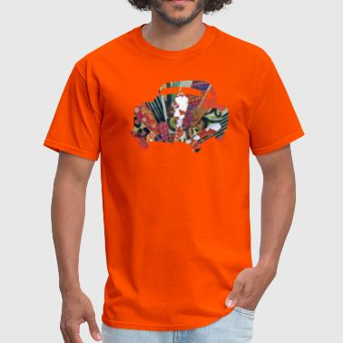 Car Collages artTS collage art GROOVY CAR orgz - Men's T-Shirt