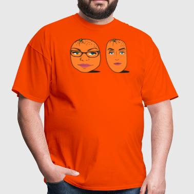 Orange Ladies - Men's T-Shirt