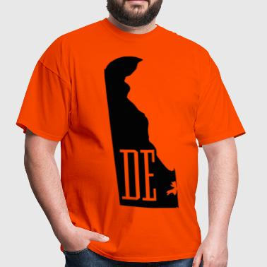 Delaware State Map - Men's T-Shirt