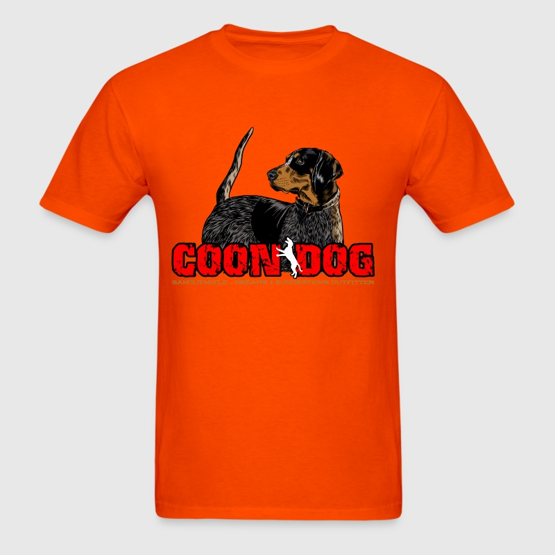 coon_dog - Men's T-Shirt
