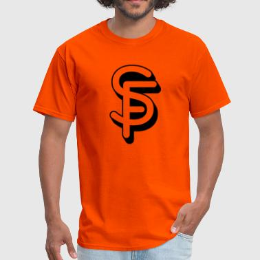 SF Letters - Men's T-Shirt