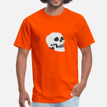 Vertebrate Skull Head - Men's T-Shirt