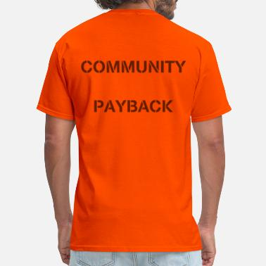 Misfits Tv Community Payback (60% transparency) - Men's T-Shirt