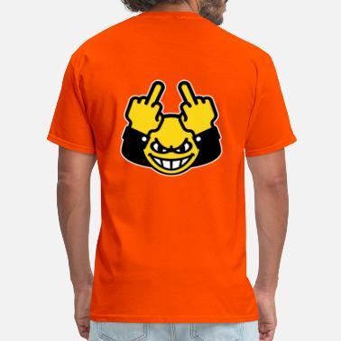 Piss Off You Suck Nasty Smiley (fuck off / fuck you, 3C) - Men's T-Shirt