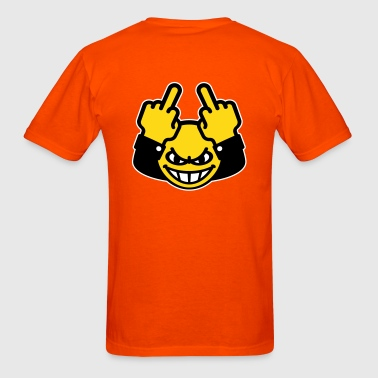 Nasty Smiley (fuck off / fuck you, 3C) - Men's T-Shirt