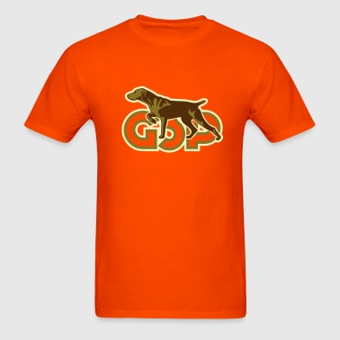 gsp_german_shorhaired_pointer - Men's T-Shirt
