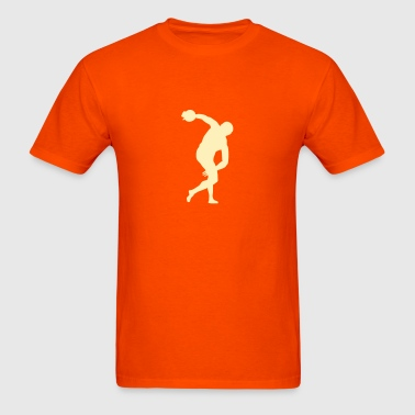 discus throw - Men's T-Shirt