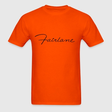 Ford Fairlane script - Men's T-Shirt