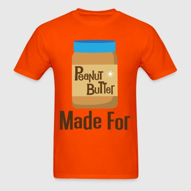 Made For Each Other Couples (Peanut Butter) T-shir - Men's T-Shirt