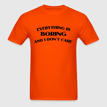Everything Is Boring Crop Top - Men's T-Shirt