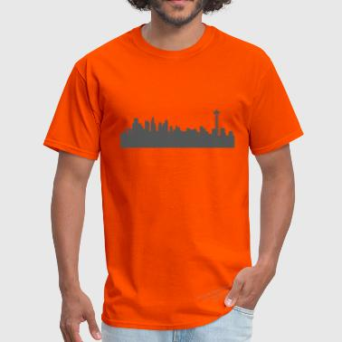 Seattle Skyline Seattle Skyline - Men's T-Shirt