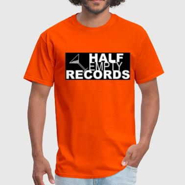 Independent Label Music Half Empty Records - Men's T-Shirt