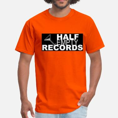 Independent Record Label Half Empty Records - Men's T-Shirt