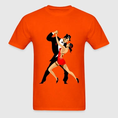 peoples dancing - Men's T-Shirt