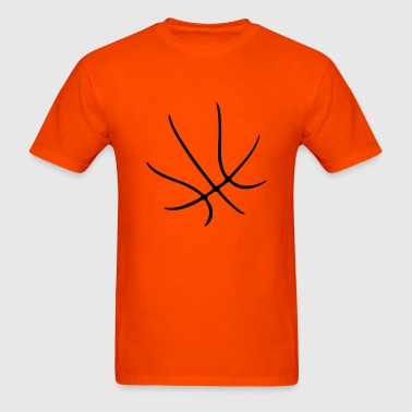 BASKETBALL - SHAPE - BBALL - Men's T-Shirt