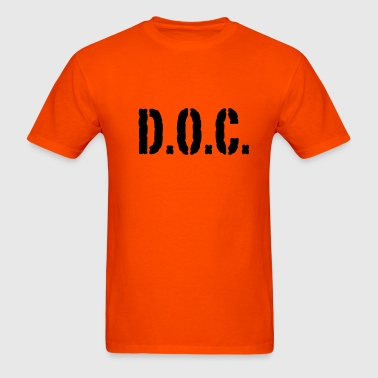 D.O.C. - Department of Corrections - Men's T-Shirt