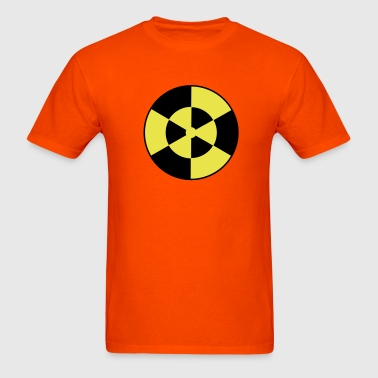 DANGER WARNING RADIOACTIVE SYMBOL - Men's T-Shirt