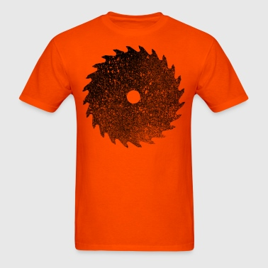 Circular Saw - Men's T-Shirt