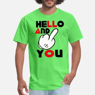 Fuck Daughter Hello Fuck T-shirt - Men's T-Shirt