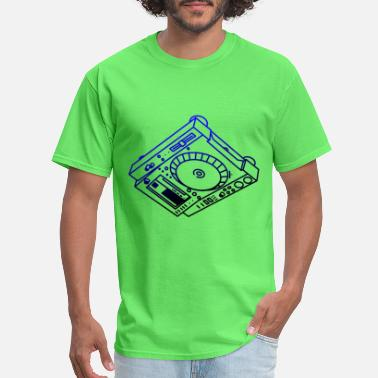 Dj Head CDJ CD DJ on the head - Men's T-Shirt