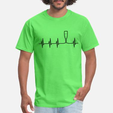 Champagne Champagne Heartbeat - Men's T-Shirt