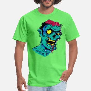 Zombie Zombie - Undead - Geek - Horror - Scifi - Dead - Men's T-Shirt