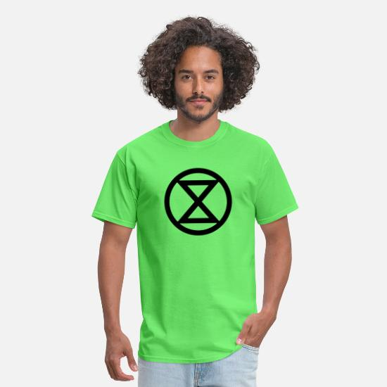Rebellion T-Shirts - Extinction Rebellion - Men's T-Shirt kiwi