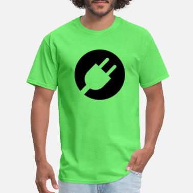 Cord.. Plug icon - Men's T-Shirt